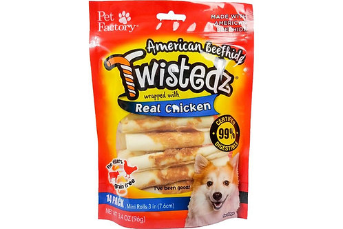 American Beefhide Twistedz Real Chicken