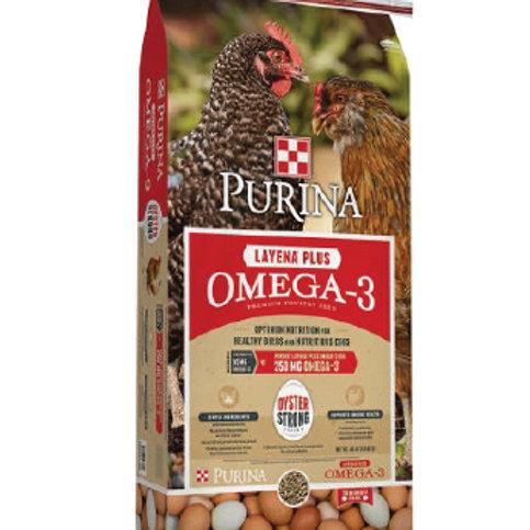 Purina Layena Plus Omega-3