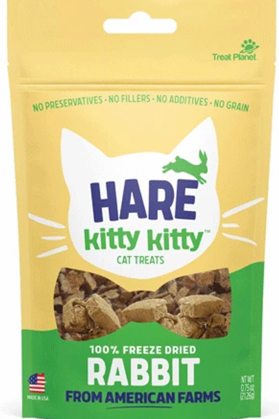 Hare Kitty Kitty Rabbit Treats