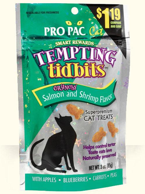 Pro Pac Tempting Tidbits Salmon & Shrimp 3oz