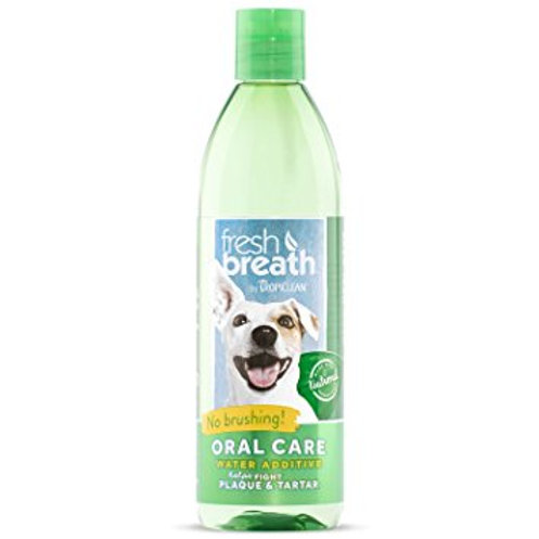 TropiClean Fresh Breath Water Additive Dogs
