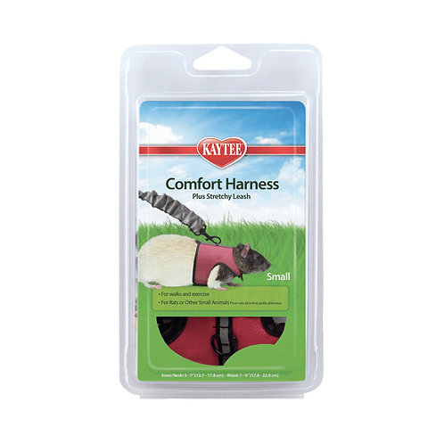 Comfort Harness Small w/ Stretchy Leash