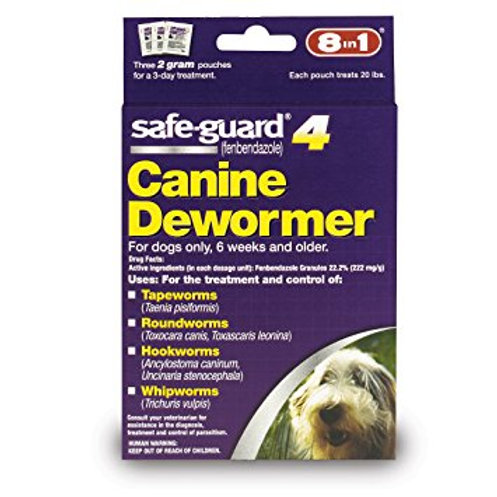 Safeguard Canine Dewormer Medium Dogs
