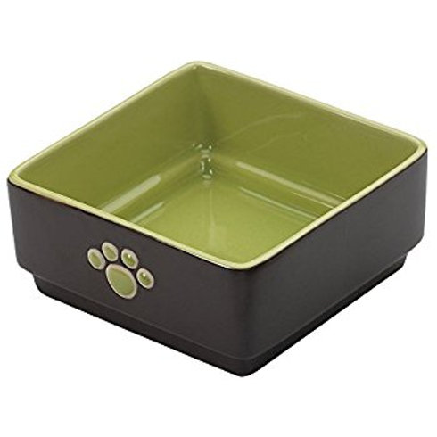 Fresco Square Dog Bowl