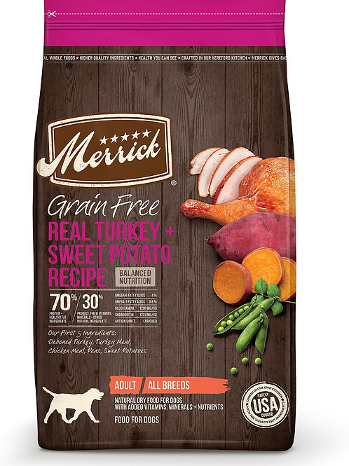 Merrick Turkey & Sweet Potato