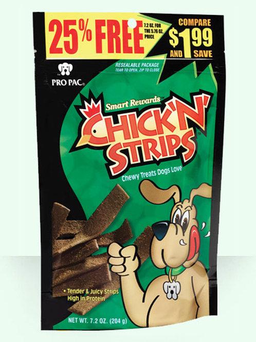 Pro Pac Chick 'N' Strips 7.2oz
