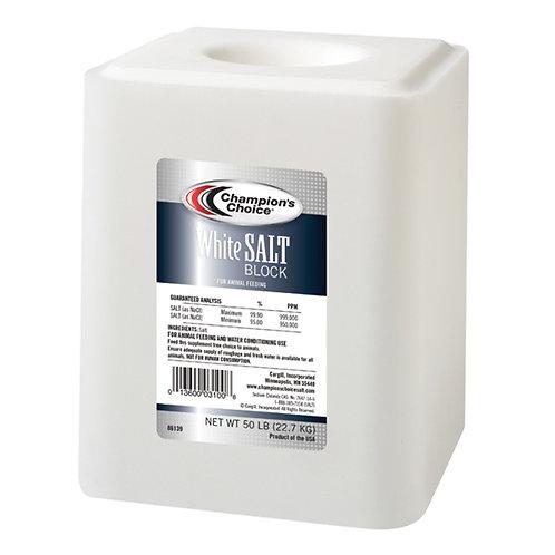 White Salt Block 50#