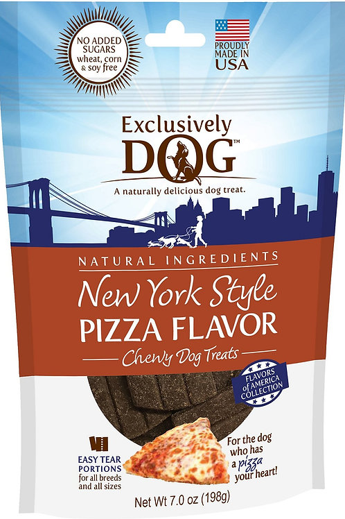 Exclusively Dog New York Style PIZZA FLAVOR
