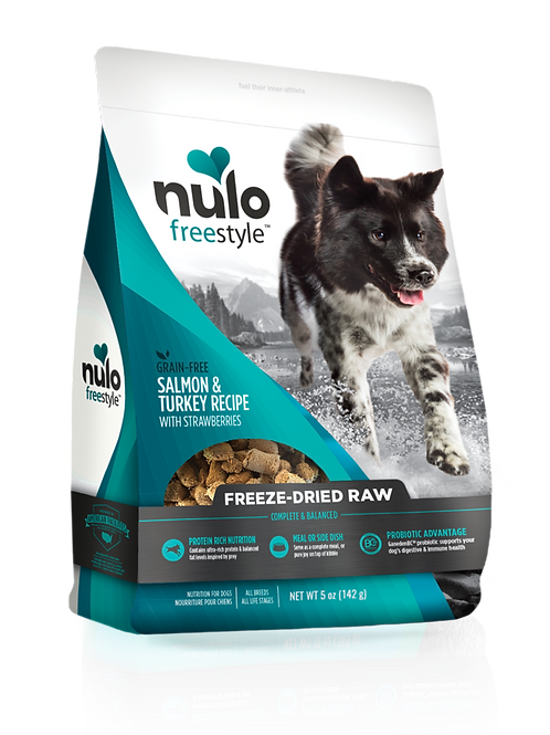 Nulo Salmon & Turkey Recipe Freeze Dried Raw