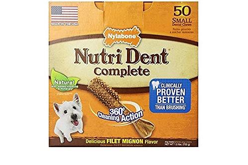 Nylabone Nutri Dent Complete Filet Mignon Flavor