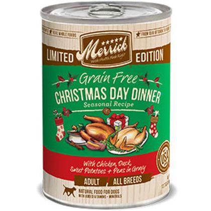 Merrick Christmas Day Dinner Grain Free 13oz
