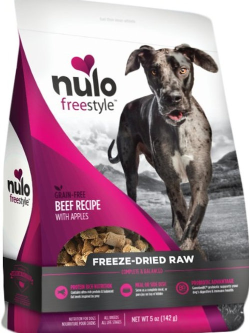 Nulo Freestyle Freeze-Dried Raw Beef Recipe