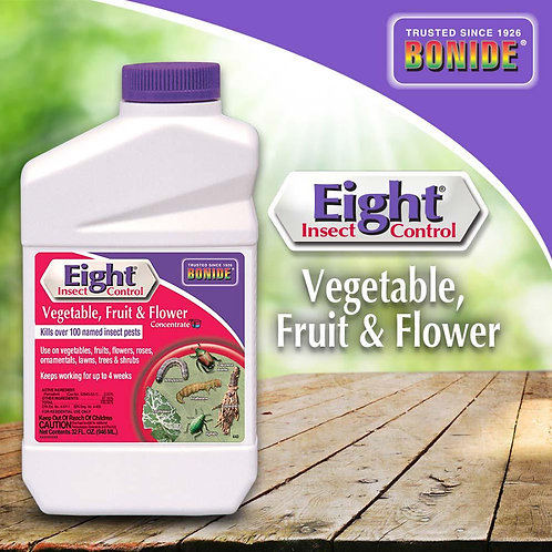 Bonide Eight Vegetable, Fruit, & Flower Insect Concentrate