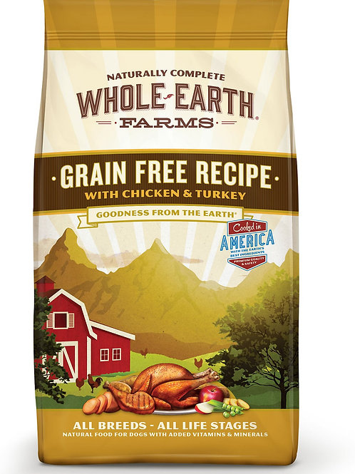 Whole Earth Farms Chicken & Turkey