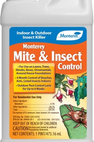 Monterey Mite & Insect Control