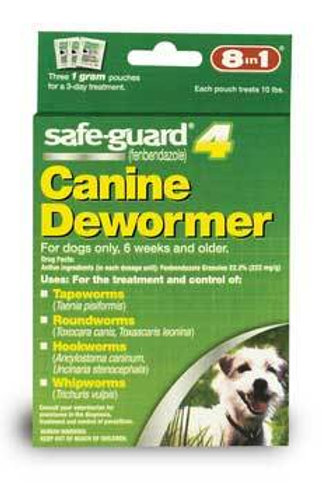 Safeguard Canine Dewormer Small Dogs