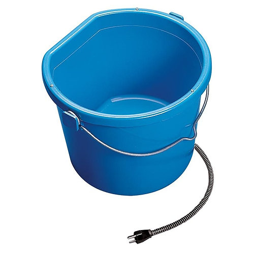 Heated Flat Back Bucket 20 Qt