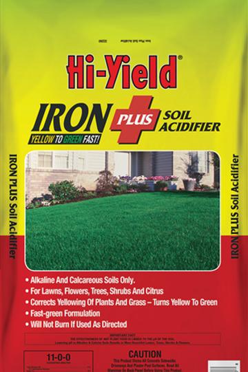 Hi Yield Iron Plus Soil Acidifier