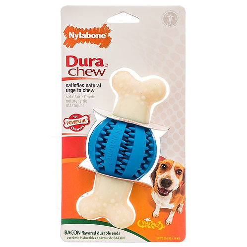 Nylabone DuraChew Double Action Round Ball