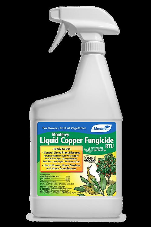 Monterey Liquid Copper Fungicide RTU