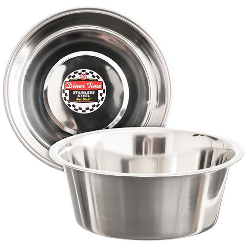 Spot Dinner Time Stainless Steel Bowls