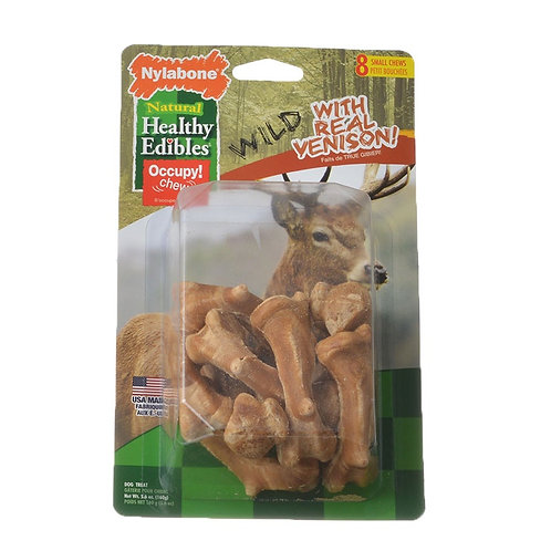 Nylabone Natural Healthy Edibles with Venison