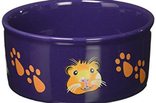 Paw Print Guinea Pig Bowl