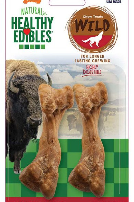 Nylabone Healthy Edibles With Real Bison