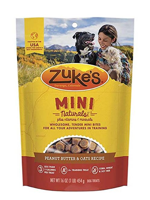 Zuke's Mini Naturals Peanut Butter & Oats Recipe