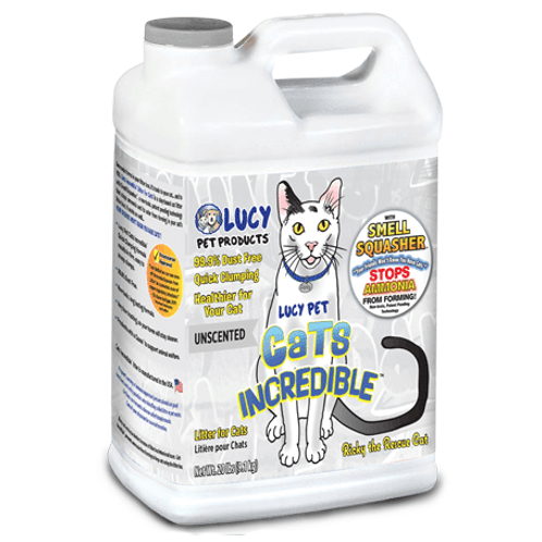 Lucy Pet Cats Incredible Litter Unscented