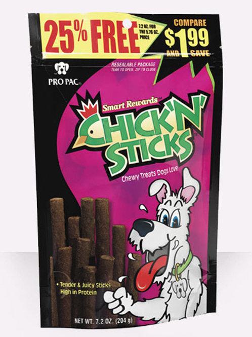 Pro Pac Chick 'N' Sticks 7.2oz