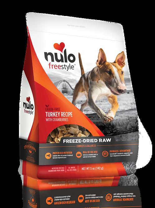 Nulo Freestyle Freeze-Dried Turkey Recipe