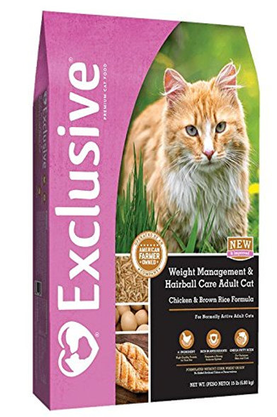 Exclusive Weight Management & Hairball Care Adult