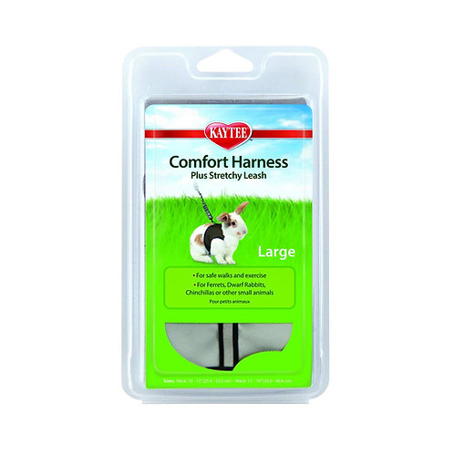 Comfort Harness Large w/ Stretchy Leash