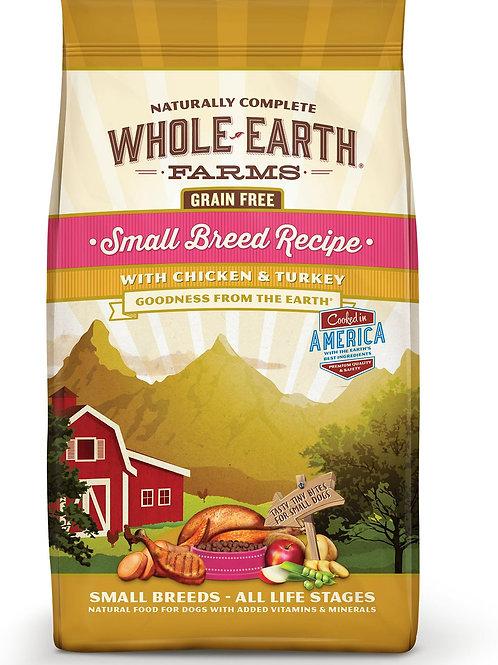 Whole Earth Farms Small Breed Chicken & Turkey
