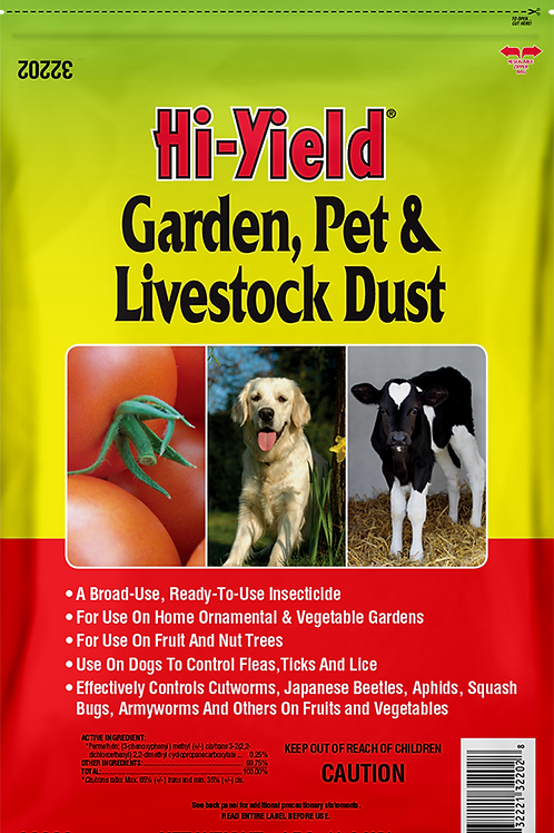 Hi-Yield Garden, Pet, Livestock Dust