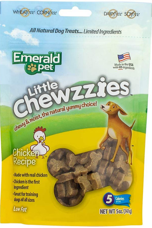 Emerald Pet Little Chewzzies Chicken Recipe
