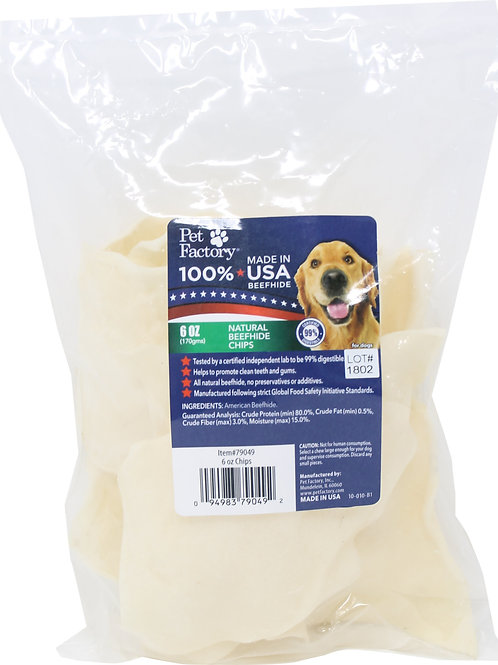 Pet Factory USA Beefhide Chips