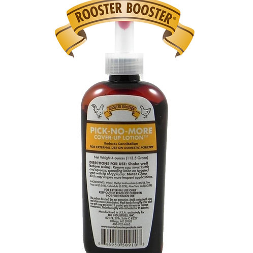 Rooster Booster Pick No More