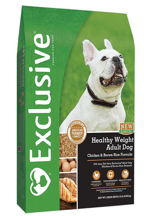 Exclusive Healthy Weight Adult Dog