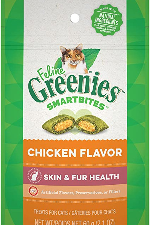 Greenies Smartbites Chicken Flavor