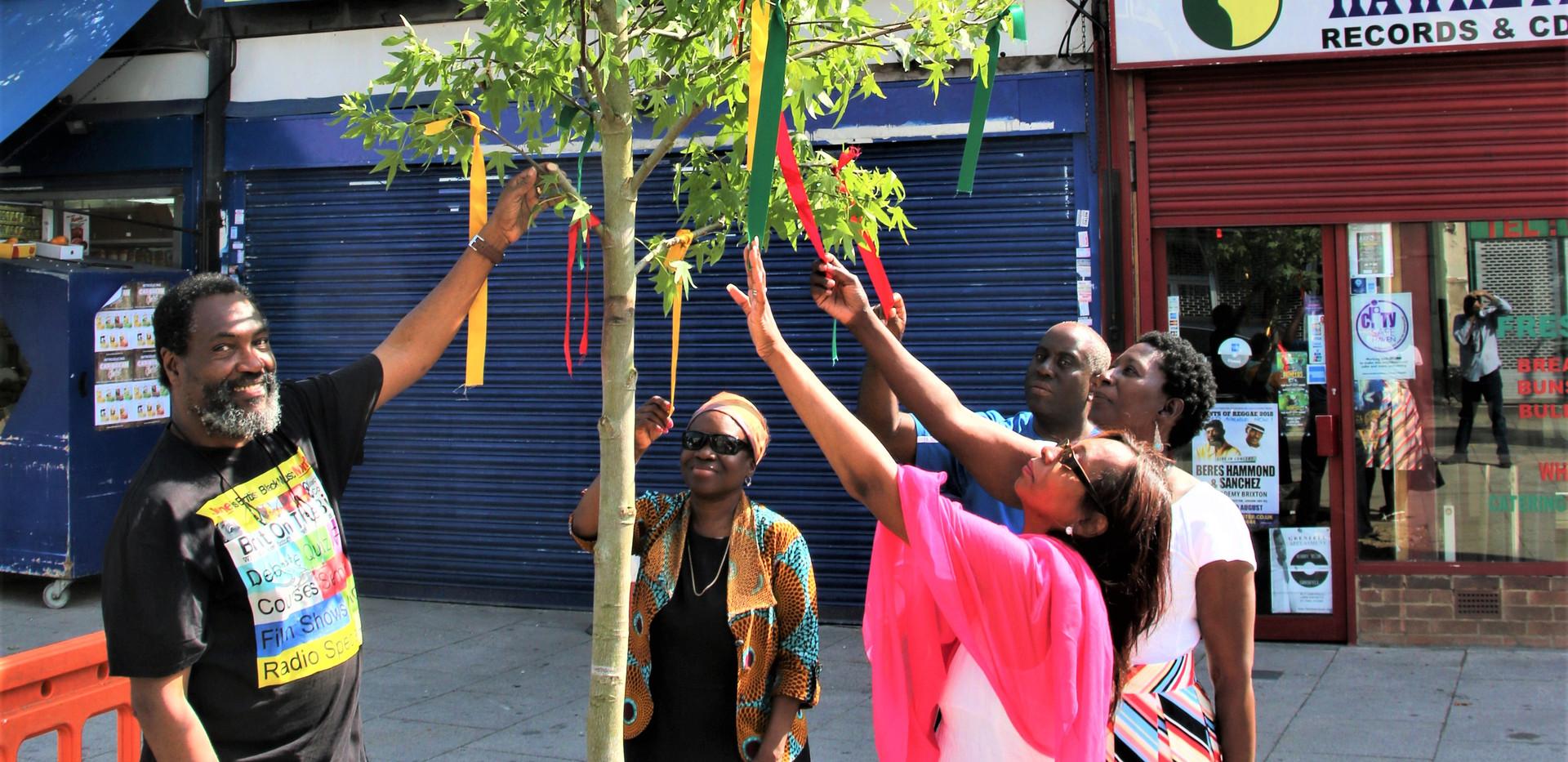 Reggae Tree L_R Kwaku Awula Serwah Cllr