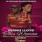 Dennis Lloyd - This Woman Flyer - Square