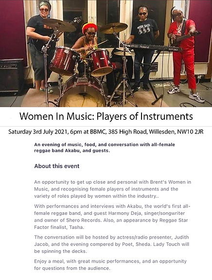 Women In Music - Players Of Instruments.