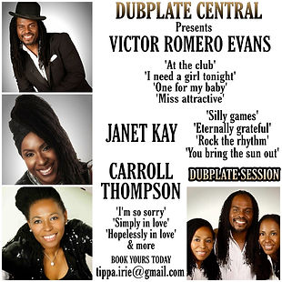 Victor Janet & Carroll Dubplate Session.