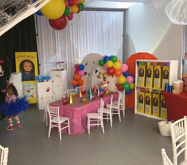 Chucky Halloween 1st Birthday Party
