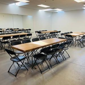40 Folding Chairs