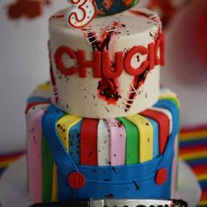Custom Chucky Cake