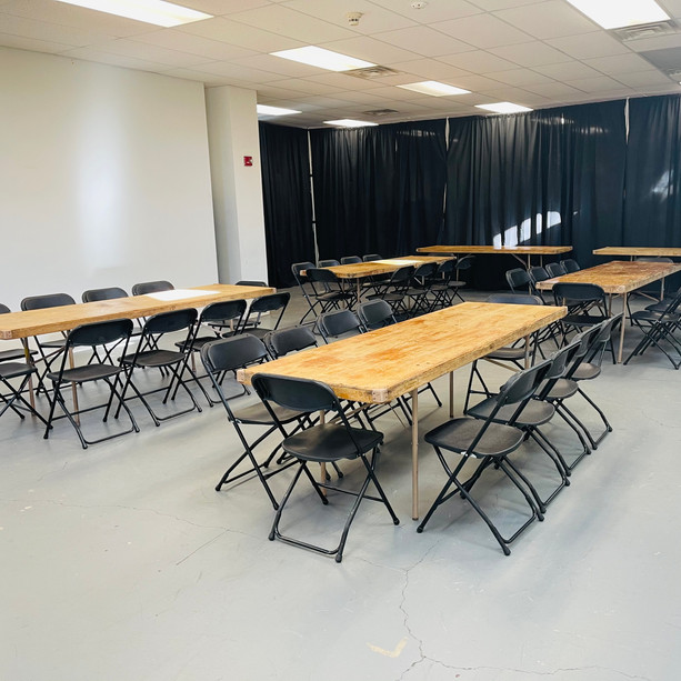 Six (8') Rectangular Tables