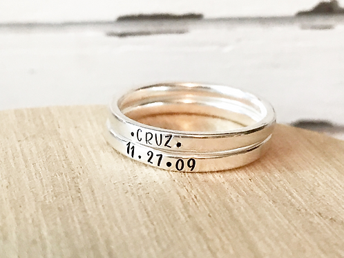 Sterling Silver Ring-2mm